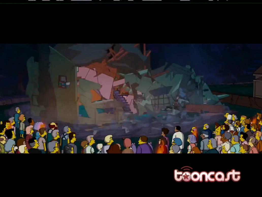 The Simpsons Movie On Tooncast 4 29 19 Rare By Esteveztheart On Deviantart