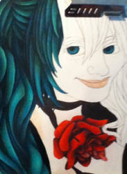 Hatsune Miku WIP by ICraveReality