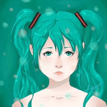 Miku Hatsune by animeforthesoul
