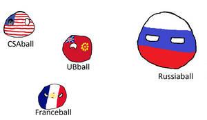 some Kaiserreich Fanon Polandballs
