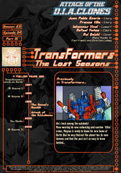 Attack of the D.I.A.clones intro page A by TF-The-Lost-Seasons
