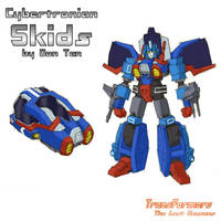 Cybertronian Skids by TF-The-Lost-Seasons