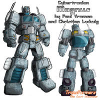 Cybertronian Magnus (colors) by TF-The-Lost-Seasons
