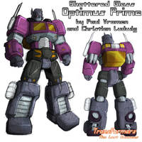 Shattered Glass Cybertronian Optimus Prime by TF-The-Lost-Seasons