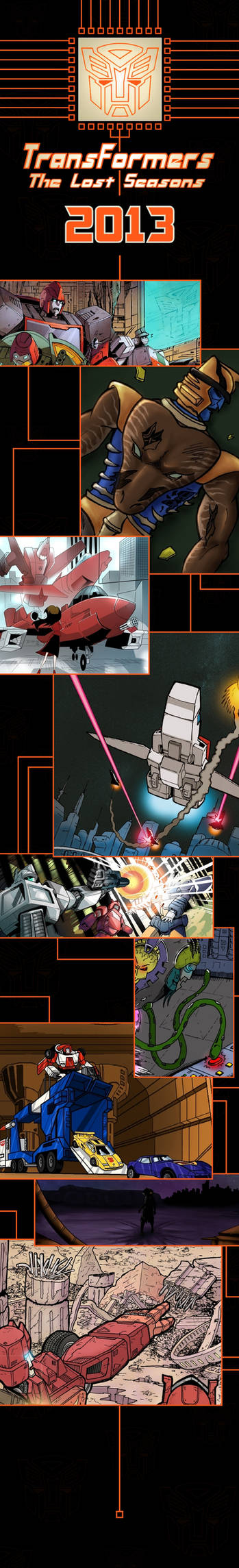 Coming to Transformers The Lost Seasons in 2013