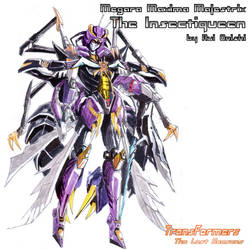 The Insectiqueen robot mode