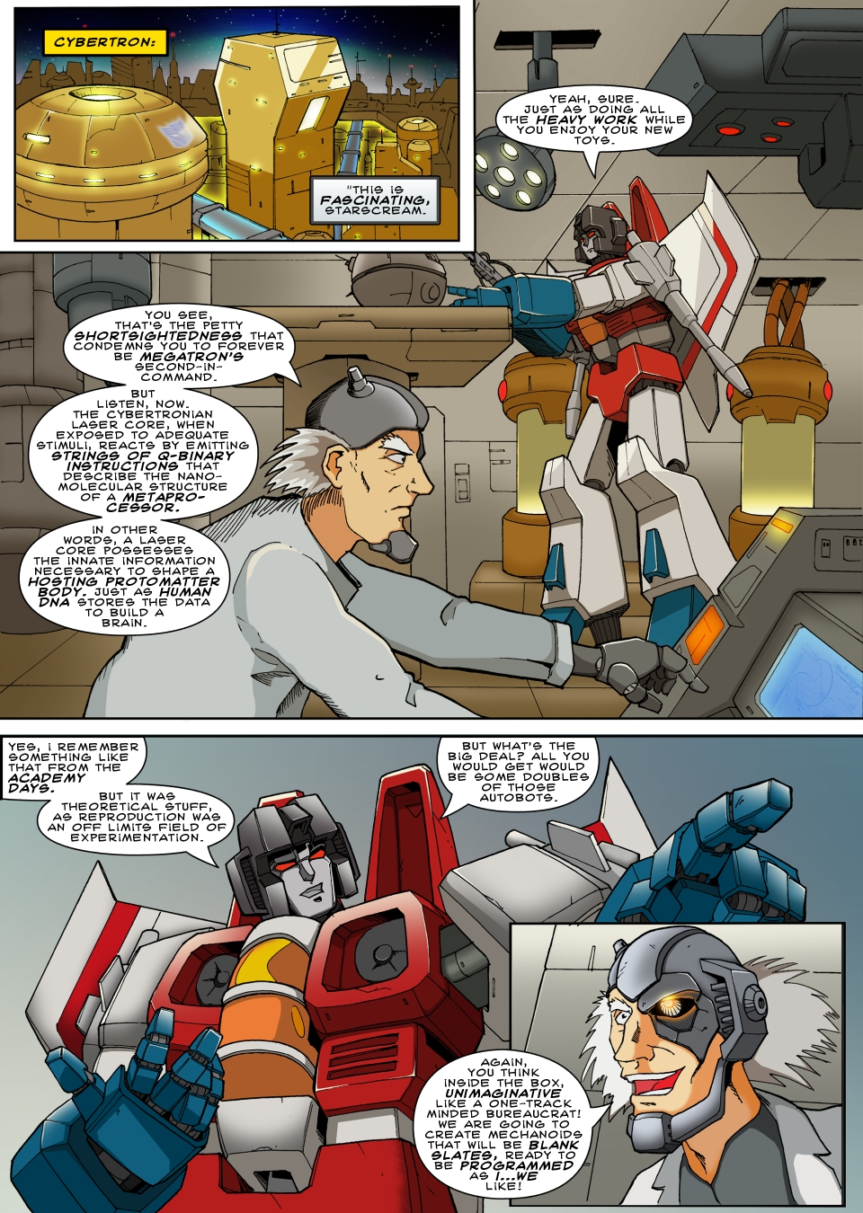 Attack of the DIAclones page 18 by TF-The-Lost-Seasons