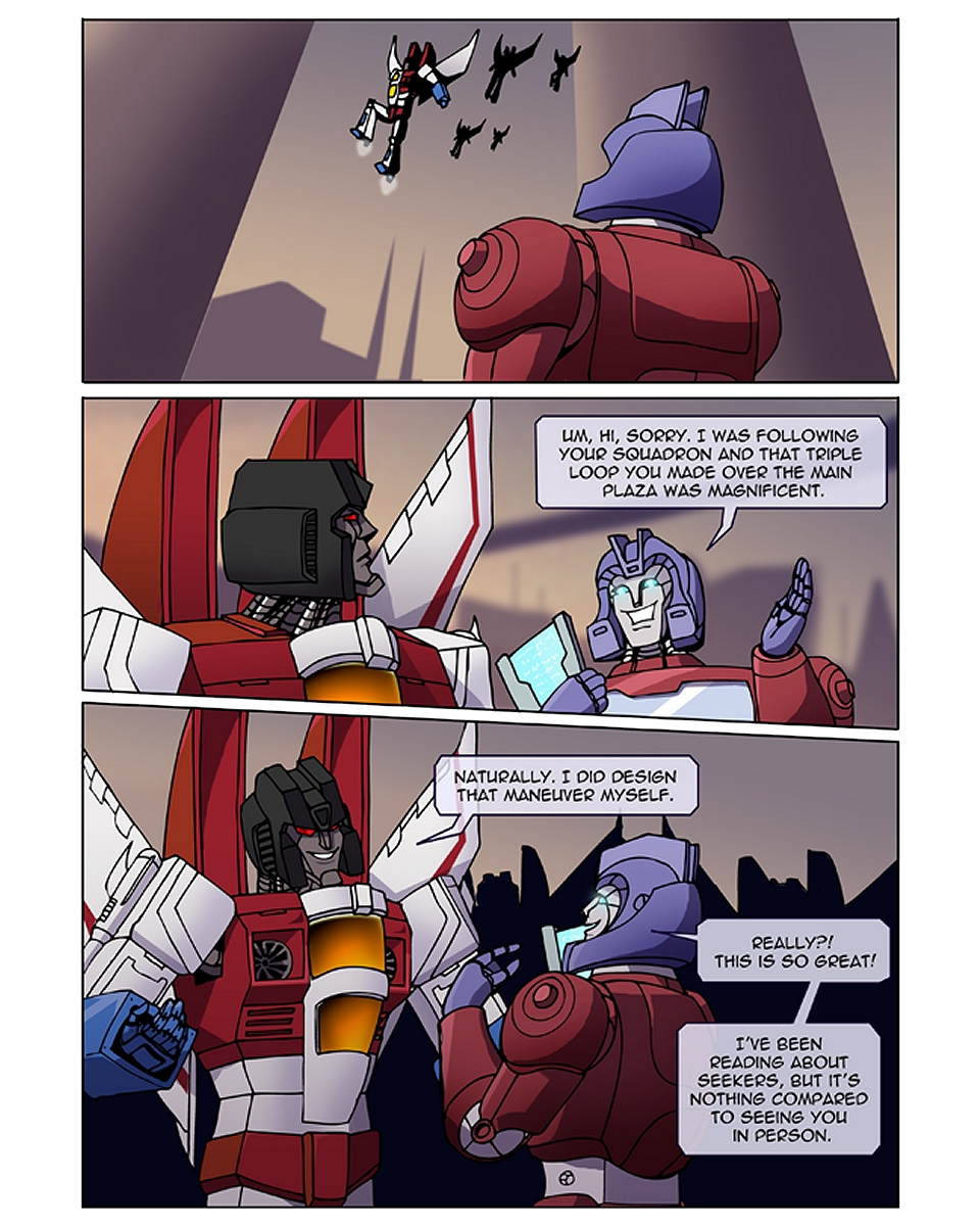 Worship the Mighty page 01 by TF-The-Lost-Seasons