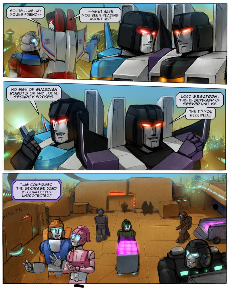 Worship the Mighty page 03 by TF-The-Lost-Seasons