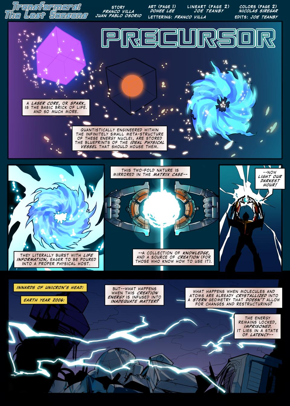 Precursor - page 1