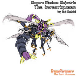 The Insectiqueen alt mode