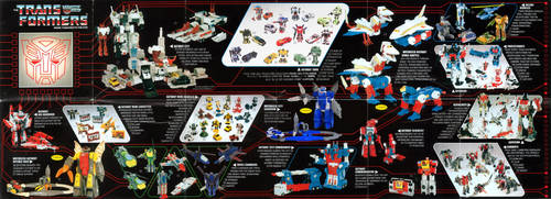 Transformers Season 2.5 toy catalogue