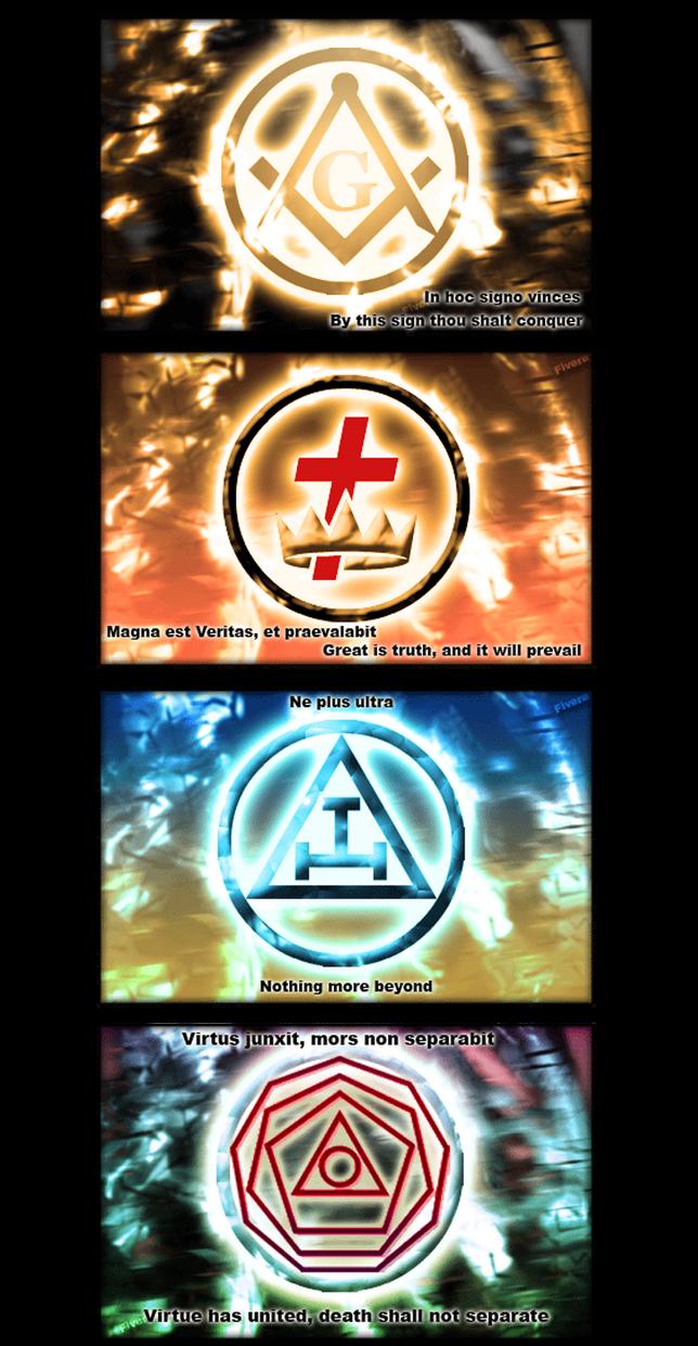 freemasons signs and mottos by FIVERA