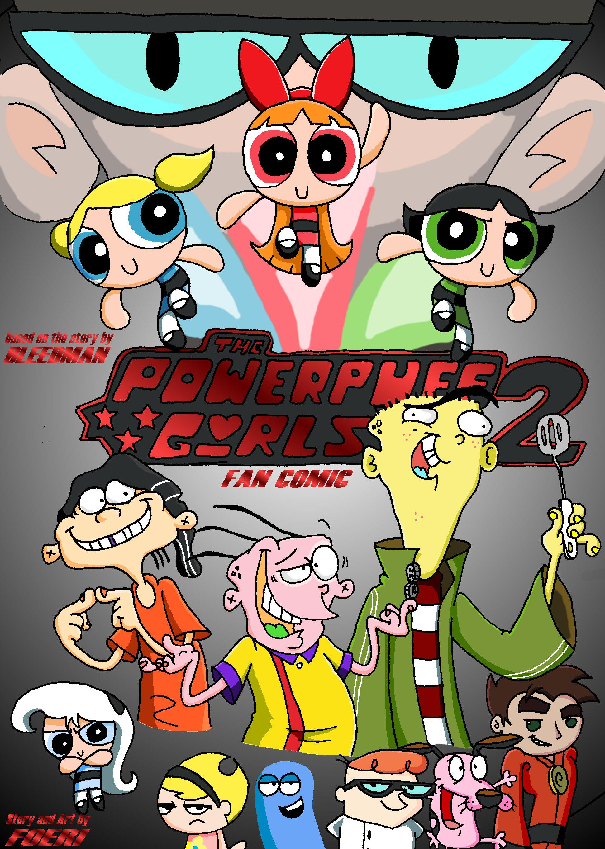 PPG2 comic-cover by foeri
