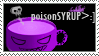 32 Stamp - poisonSYRUP by amegiona