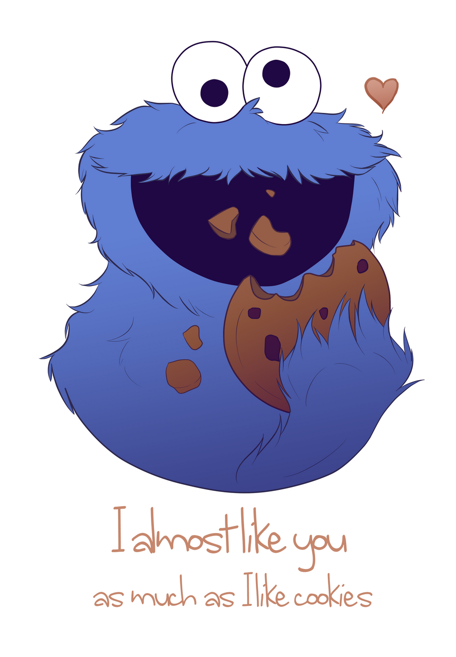 I choose you Valentine by TheQuoi on DeviantArt – Cookie Monster Valentine Cards