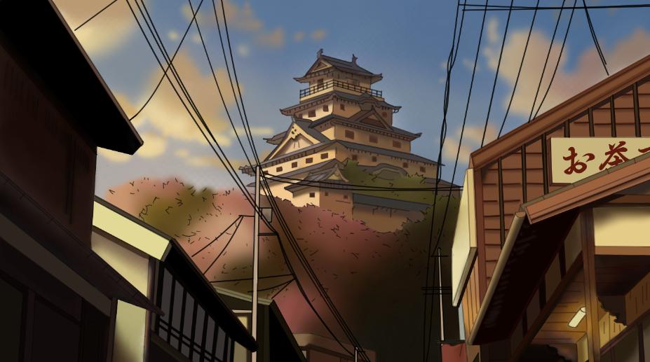 Himeji Castle by Crownverry