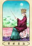 Queen of Sword by ErinLaurant