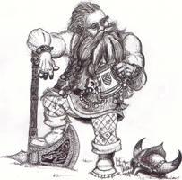 dwarf by mestre-du-temple