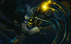 Black Rock Shooter - Tag by DJG4M3R