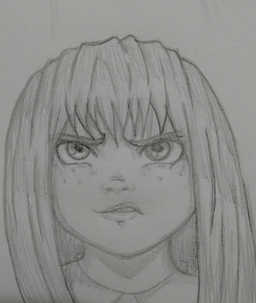 Angry Girl by KarenReyes