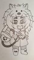 Hanzo as Mei