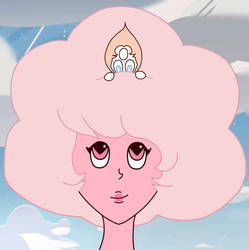 Pink diamond and pearl by Kuromi-rika