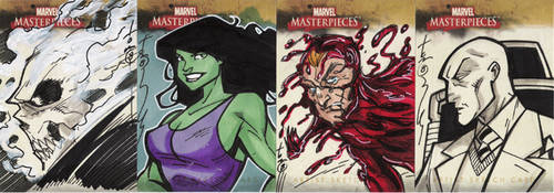Marvel Masterpieces II 05