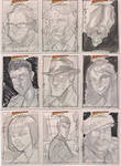 Indiana Jones 4 cards by Hodges-Art