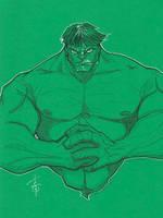 Hulk by Hodges-Art