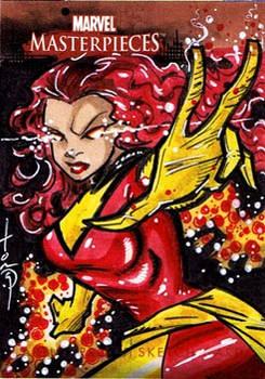 MM2 Sketch Card Dark Phoenix