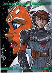 Topps Clone Wars Sketch Card