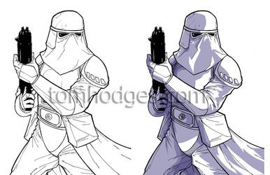 TF09 Snowtrooper Badge by Hodges-Art