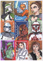 Topps SW Galaxy 5 SC02 by Hodges-Art