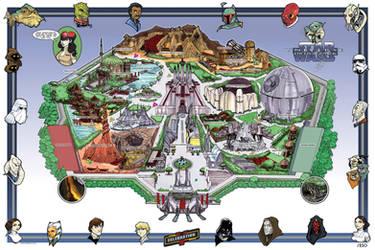 Star Wars CV LE Print by Hodges-Art