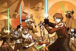 SWCV Clone Wars Poster HEROES