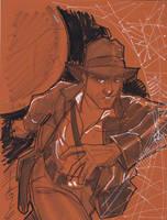Oct 7 Art Cast Indiana Jones by Hodges-Art