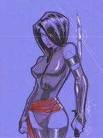 Psylocke 02 by Hodges-Art