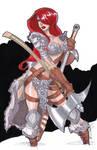 11x17 Red Sonja