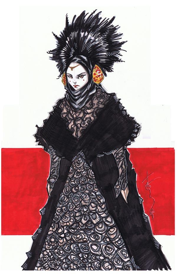 Queen Amidala by Hodges-Art