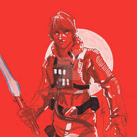 12x12 Luke Skywalker SLC
