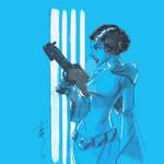 12x12 Princess Leia ANH SLC