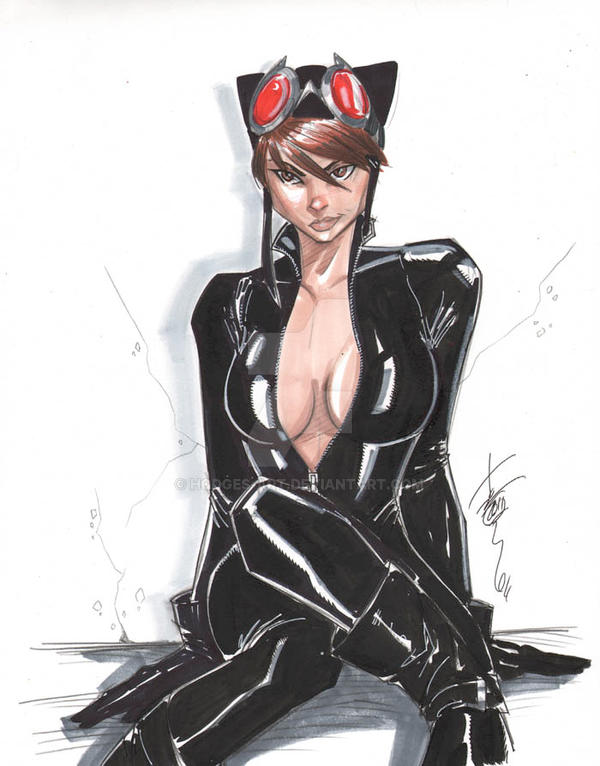 The Women Of Dc Comics Ink In Adam Withers S Dc Comics: Catwoman Sept 24 2011 By Hodges-Art On DeviantArt