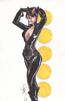Catwoman Oct 2011