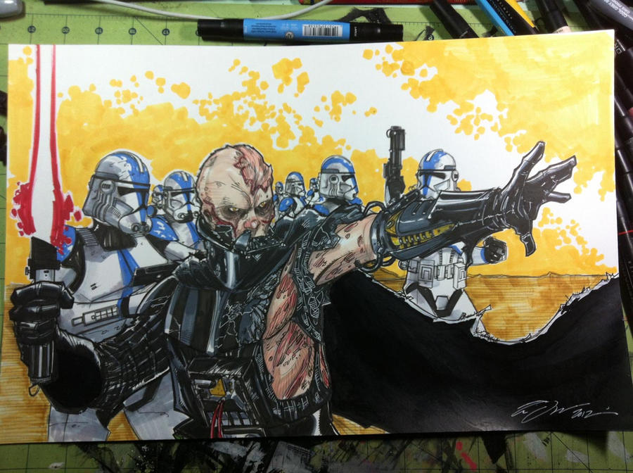Vader and the 501st by Hodges-Art