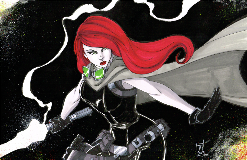 Mara Jade by Hodges-Art