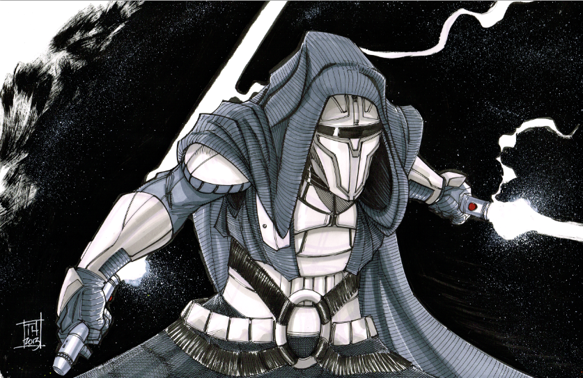 Darth Revan by Hodges-Art