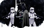 Vader and Troopers