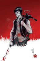 Daryl Dixon Philadelphia Comic Con Exclusive by Hodges-Art