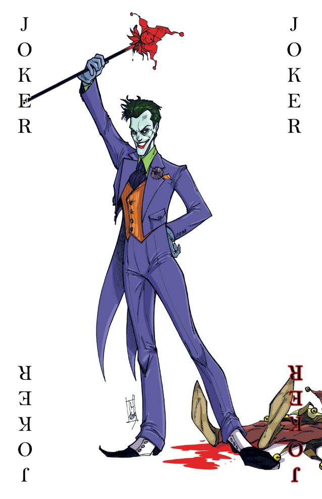 joker card art - photo #19